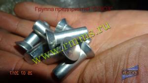 алюминиевая заклёпка с потайной головкой